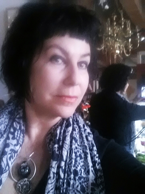 Catherine L. Johnson/ARTIST 29 December2013 Birthday/selfie; CATHERINE L. JOHNSON;