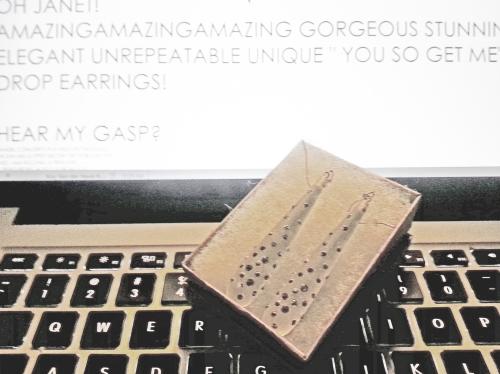 MY29DECBIRTHDAY MYANAMCARAFRIENDJANETANAM DROPOFMAGNIFICENCE; CATHERINE L. JOHNSON;