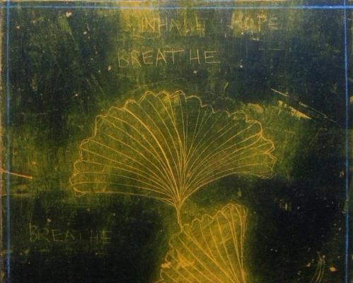 GinkgoWINGS: BREATHEINHALEHOPE 2014 DETAIL CATHERINE L. JOHNSON; CATHERINE L. JOHNSON: