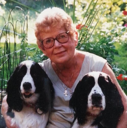MY MOTHER DORIS COTTORJOHNSON OMLIE SUMMER 1996; CATHERINE L. JOHNSON;