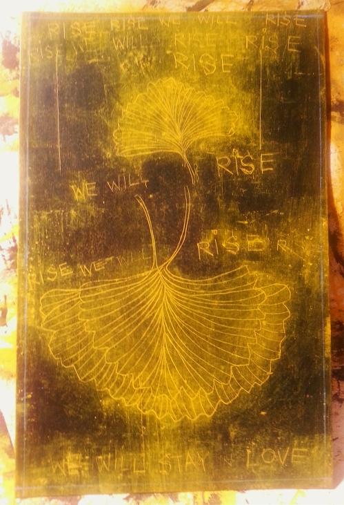 GingkoWINGS:RISERISERISEWEWILLRISE 2014 STUDIO CATHERINE L. JOHNSON; CATHERINE L. JOHNSON;
