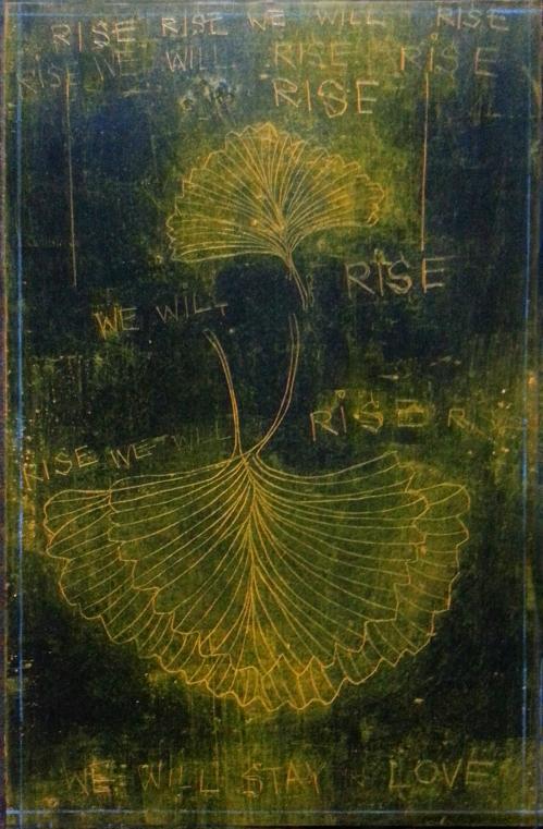 GinkgoWINGS: RISERISERISEWEWILLRISE 2014 CATHERINE L. JOHNSON; CATHERINE L. JOHNSON;