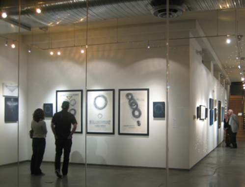 CARRIE JO AND JOE CHANDLEE @ MY PRIVATE RHYTHM SOLO EXHIBITION 2010; CATHERINE L. JOHNSON;