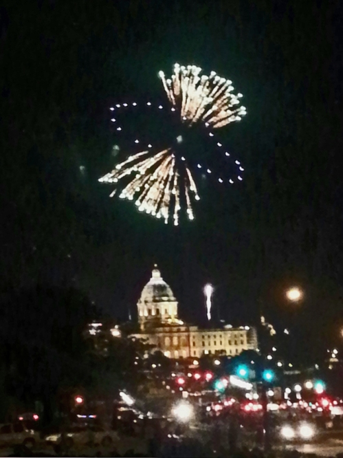 4 JULY 2014 Fireworks St. Paul Capitol; Catherine L. Johnson;