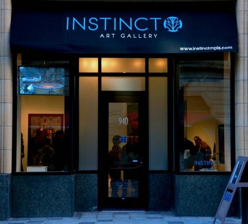 INSTINCT ART GALLERY, 904 NICOLLET MALL,  MPLS, MN