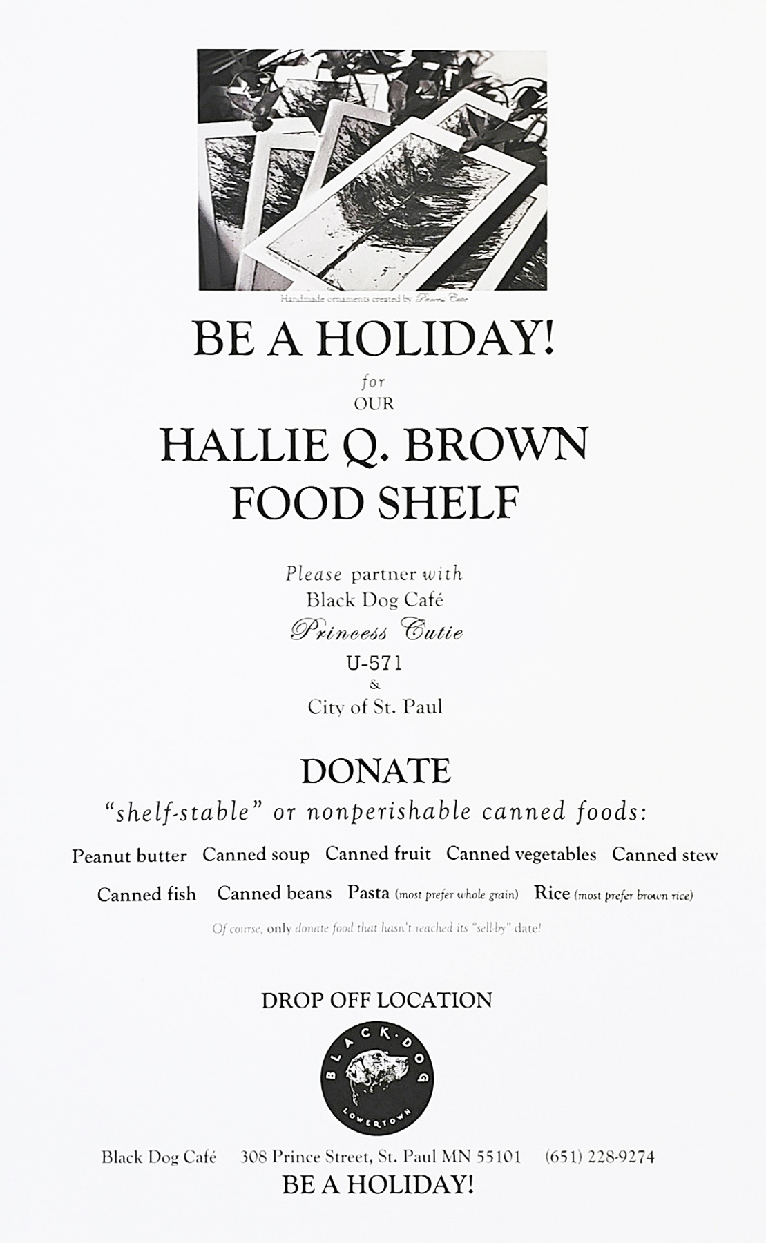 BEAHOLIDAY_HALLIEQBROWN_POSTER_WP